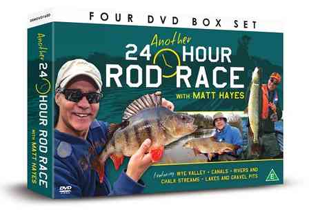 JEM Marketing & Fulfilment - Matt Hayes 24 Hour Rod Race 4 DVD Gift Set - Save 0%