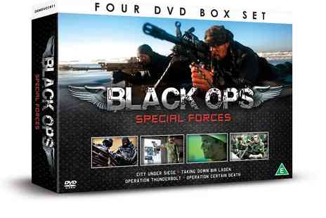 JEM Marketing & Fulfilment - Black Operations Special Forces 4 dvd gift box - Save 0%