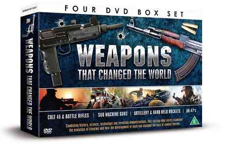 JEM Marketing & Fulfilment Services - Weapons That Changed the World 4 DVD box set - Save 0%