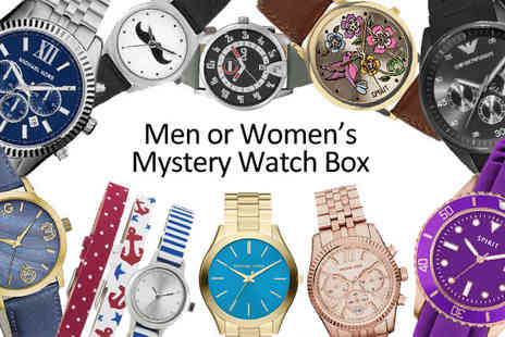 Jewellery Bank British GEM - Mystery Watch Offer Michael Kors, D&G, Armani And More - Save 0%