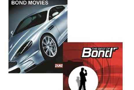 JEM Marketing & Fulfilment Services - The Bond Cars and the Music (CD) - Save 0%