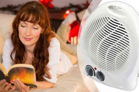 Uk Home & Garden Store - 2000W Thermostat Electric Fan Heater - Save 37%