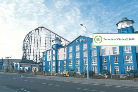 Big Blue Hotel - Two night stay for Two incling Blackpool Zoo, Madame Tussauds - Save 59%