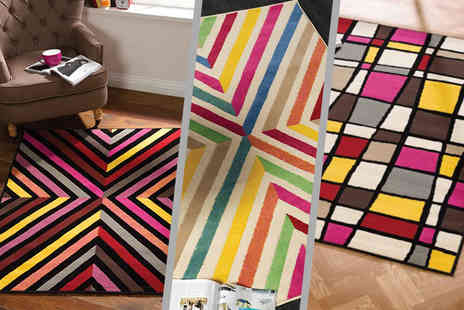 The Rug Shop - Retro funky rug  - Save 35%