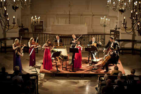London Concertante - Ticket to an evening of Christmas Baroque music by candlelight plus CD and program   - Save 43%