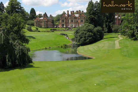 The Hallmark Hotel Welcombe - Round of Golf with Bacon Roll and Tea or Coffee Each for Two - Save 65%