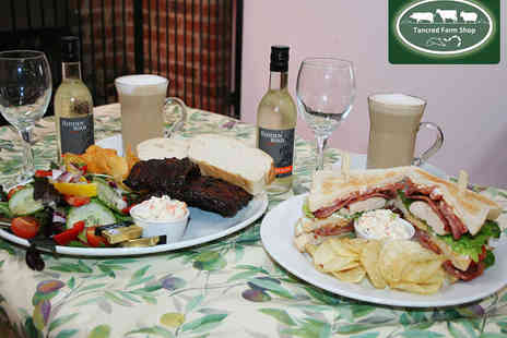 Tancred Farm Shop - Winter Lunch and Glass of Wine or Beer each for Two - Save 52%