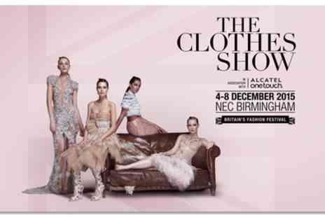 Clothes Show Live - A full day or afternoon entry to The Clothes Show - Save 0%