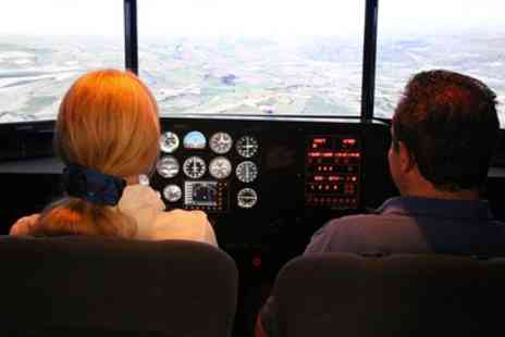 Denbigh Flight Training - Flight Simulator Session or Trial Flying Lesson Plus Membership  - Save 66%