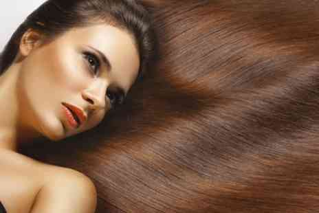 LA Desire Hair & Beauty - Brazilian Keratin Blow Dry Treatment with an Optional Cut  - Save 59%