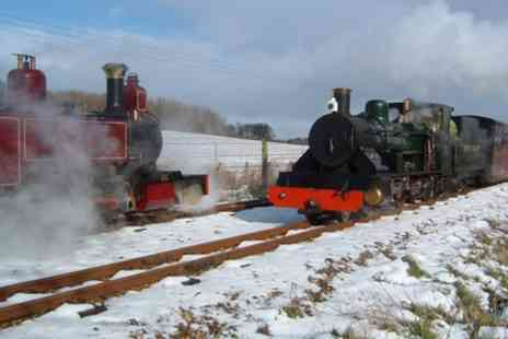 Bure Valley Railway - Ticket to Bure Valley Railway with a Mince Pie  - Save 50%