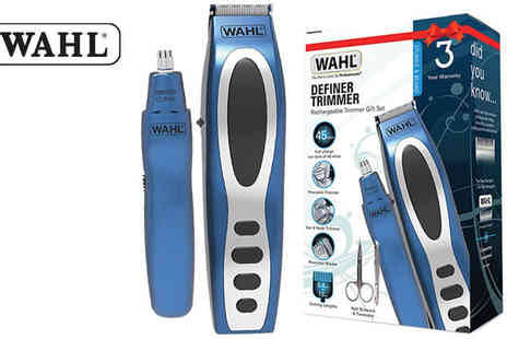 Pik-A-Pak - Wahl Rechargeable Definer Trimmer Gift Set - Save 50%