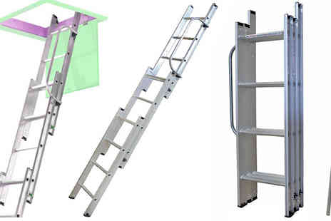 Plus Bee - Extendable Folding Ladder - Save 0%