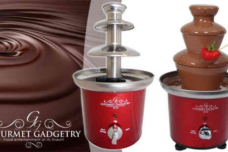 Pik-A-Pak - Retro Chocolate Fountain by Gourmet Gadgetry - Save 24%