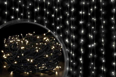 Advanced Polymer - 300 white LED fairy lights - Save 80%