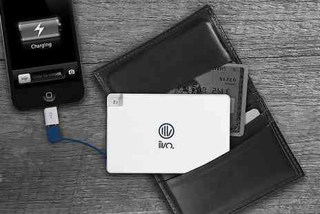 Heads Group - Ultra slim, credit card sized smartphone PowerBank - Save 0%