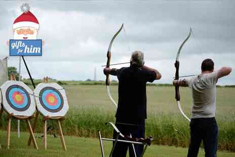 On Targett Events - Three hour archery axe throwing and shooting experience - Save 64%