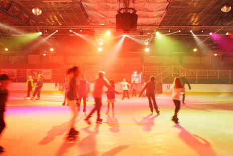 Ryde Arena - Ice skating for two and a meal each - Save 50%