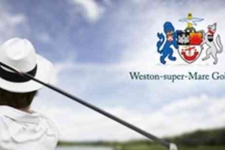 Weston Super Mare Golf Club - Three 60 Minute Golf Lessons - Save 82%