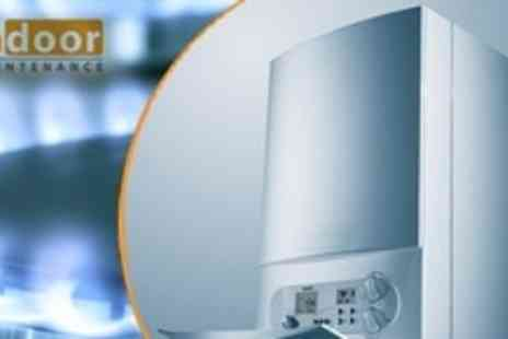 Indoor Maintenance - Annual Boiler Service With Efficiency and System Check For One - Save 83%