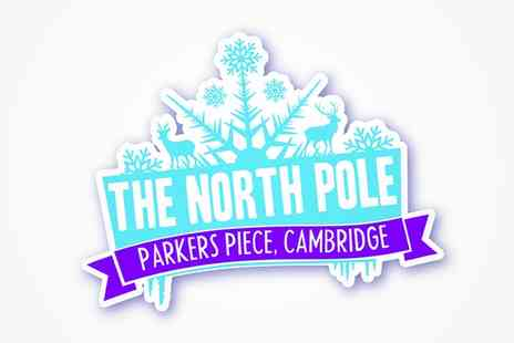 North Pole Cambridge - Peak or off peak ticket to the Ice Festival - Save 22%