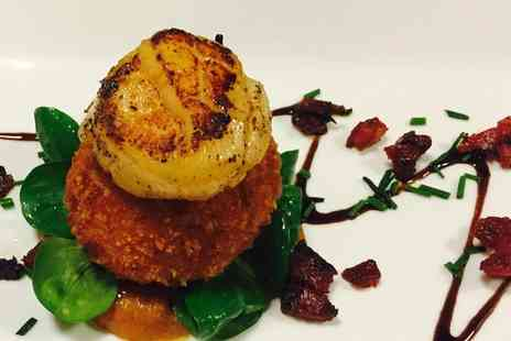 The Green Man - Two Course Lunch or Dinner with a Glass of Wine for Two - Save 50%