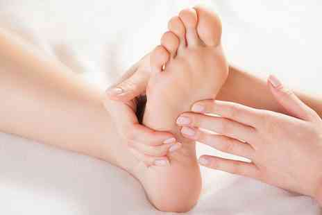 A Touch of Calm - Reflexology and a Facial - Save 50%