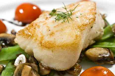 Fish Tale Bar - Choice of Sea Bass or Half Chicken Dishes with Sides for Two - Save 54%