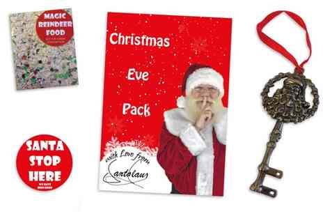 Santa Letters Direct - Christmas Eve Family Santa Pack With Free Delivery - Save 25%