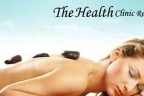 The Health Clinic Reading - Personalised Pamper Package With Three Beauty Treatments, Bubbly and Chocolates - Save 70%