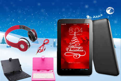 HK J and Y International Trading - Quad Core Android SmartPad Bundle - Save 72%