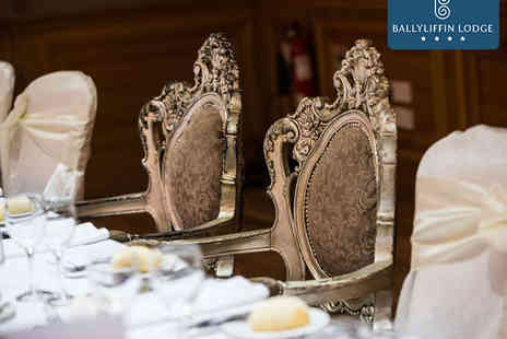 Ballyliffin Lodge - Wedding Package for 80 with Four Course Meal, Champagne Reception, Toast Drink, Bridal Suite, Evening Buffet, and Chauffeur Driven Rolls Royce or Mercedes - Save 0%