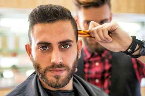 Cuts and Colours - Mens Head Massage with a Haircut or a Style Cut and Blow Dry   - Save 55%