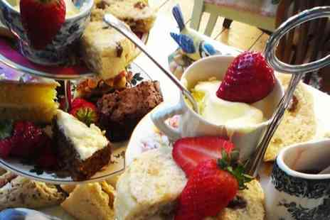 Cox and Baloney  - Classic or Festive Afternoon Tea for Two  - Save 54%