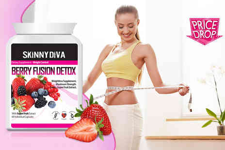 The Protein Lab - One month supply of  Berry Fusion Detox capsules  - Save 82%