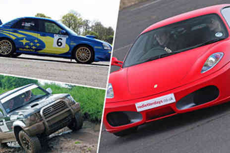 Subaru Impreza - 40% off Ferrari, Rally and 4x4 Thrill - Save 40%