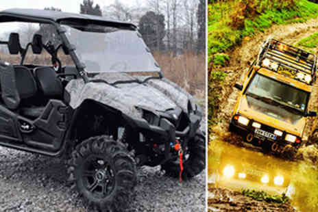 Extreme angles- 50% off 4x4 and Viking Off Road Adventure - Save 50%