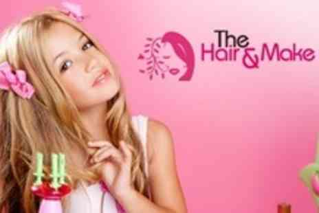 The Hair and Makeup Bar - Up to Two Hour Childrens Make Up Party For Four Guests - Save 52%