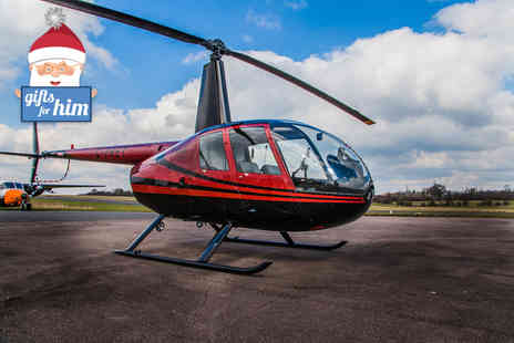 Flying Pig Helicopters - Helicopter flying experience for one - Save 40%