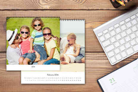 Pixa Prints - Personalised square wall calendar - Save 0%