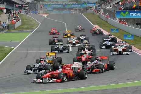 New Wave - Three night Spanish Grand Prix break for two including half board 4 accommodation and track transfers - Save 0%