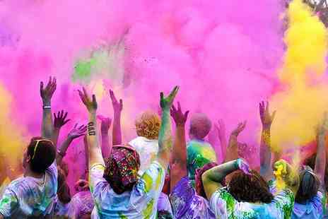 Color Me Rad - Entry to Early Bird Offer Color Me Rad 5K Race  for One on 7 May 2016 - Save 49%