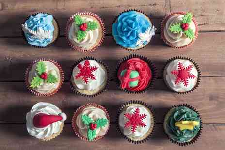 Your Treats Bakery - Christmas Themed Cupcakes  - Save 0%