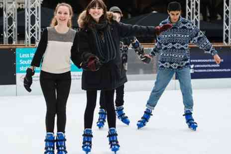 Broadgate Ice - Ice Skating with Skate Hire for Two - Save 50%