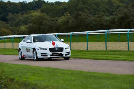 Brandscape - 30 minute junior Jaguar driving experience for a one hour experience  - Save 0%