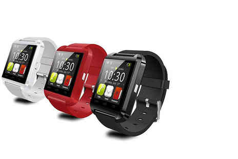 BritishGoody - Bluetooth smart watch choose from three colours - Save 67%