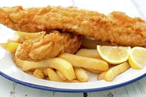 The Ashvale - Fish and Chips with Sides for Two - Save 44%
