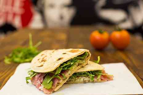 DinaDina Restaurant - Choice of Piadina for One - Save 0%