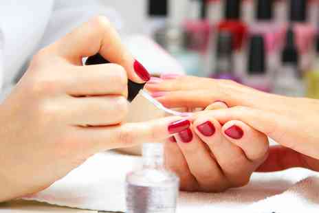 Inches Beauty Salon - Shellac or Gelish Nails on Hands or Feet or Both - Save 78%