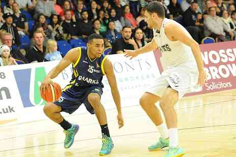 Sheffield Sharks -  Tickets to a choice of Sheffield Sharks home game  - Save 38%